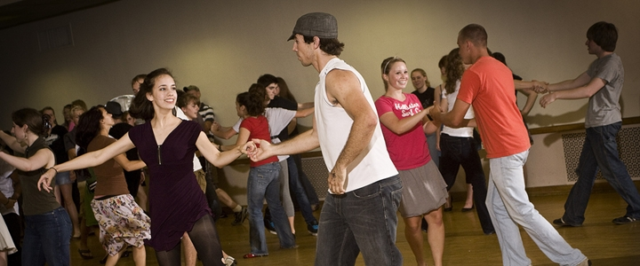 Couples engage them in dance classes
